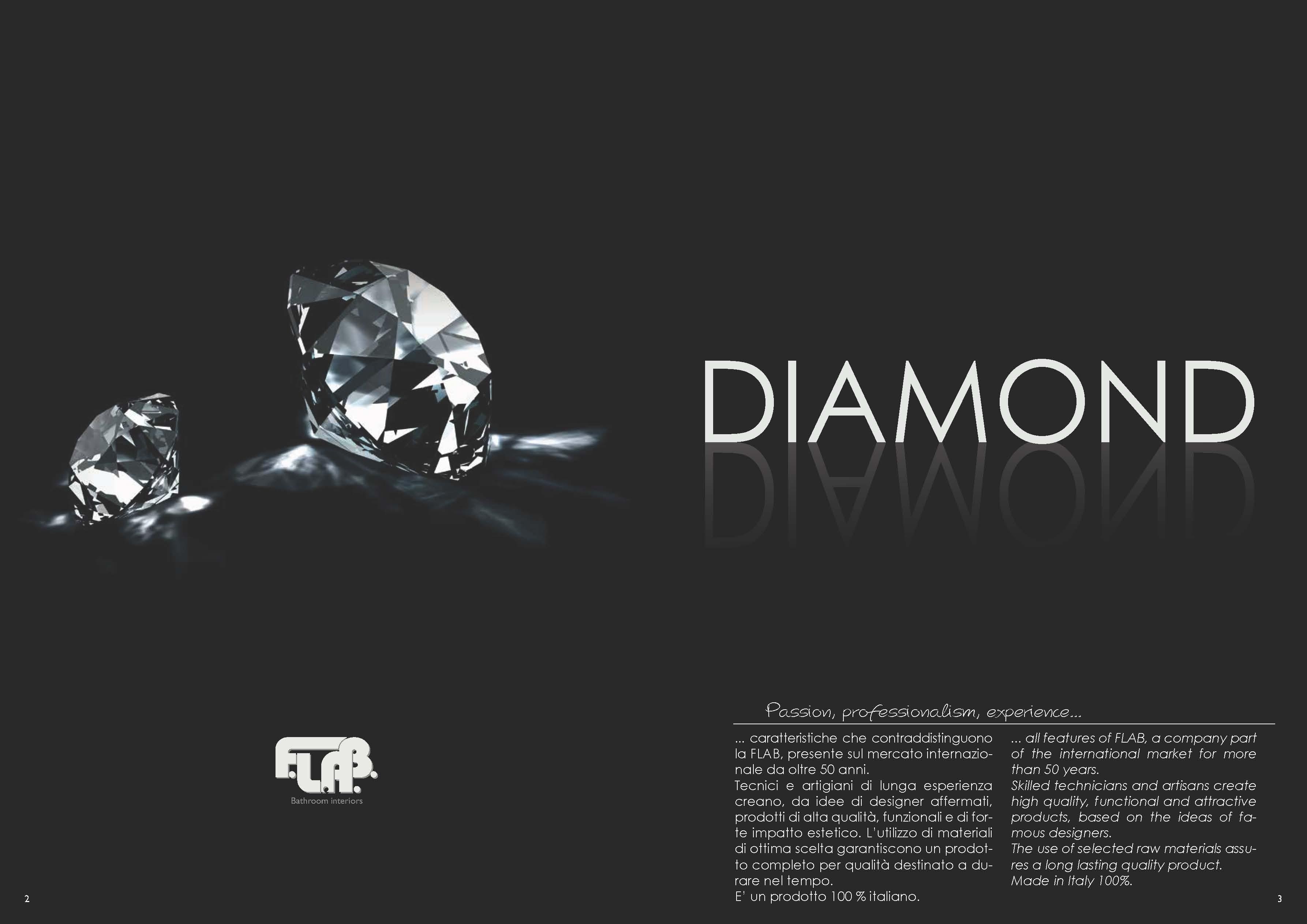 Flab Accessori Bagno Catalogo.Arredo Bagno Flab Diamond